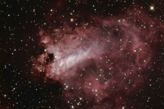 M 17 Omega Nebula