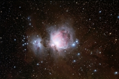 Orion's Sword M 42, M 43 and Running Man