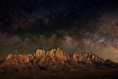 Organ Mountain Milky Way 2017-04-03