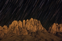 Organ Mountain Star Trails-2017-09-22