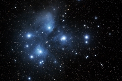 M 45 Pleiades Open Cluster