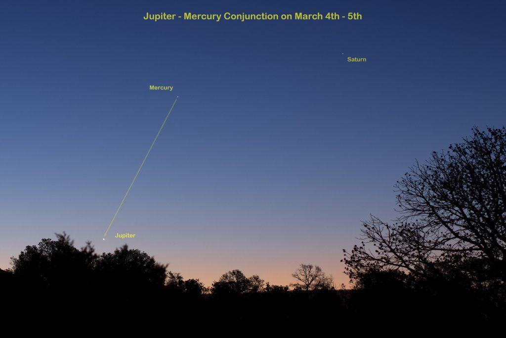 Jupiter Mercury Saturn